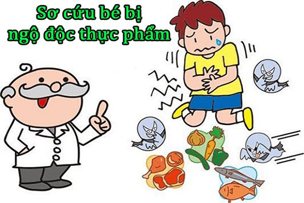 Kidsonline-11 cách sơ cứu cho trẻ tại nhà bố mẹ nhất định phải biết-sơ cứu cho trẻ khi bị ngộ độc thực phẩm