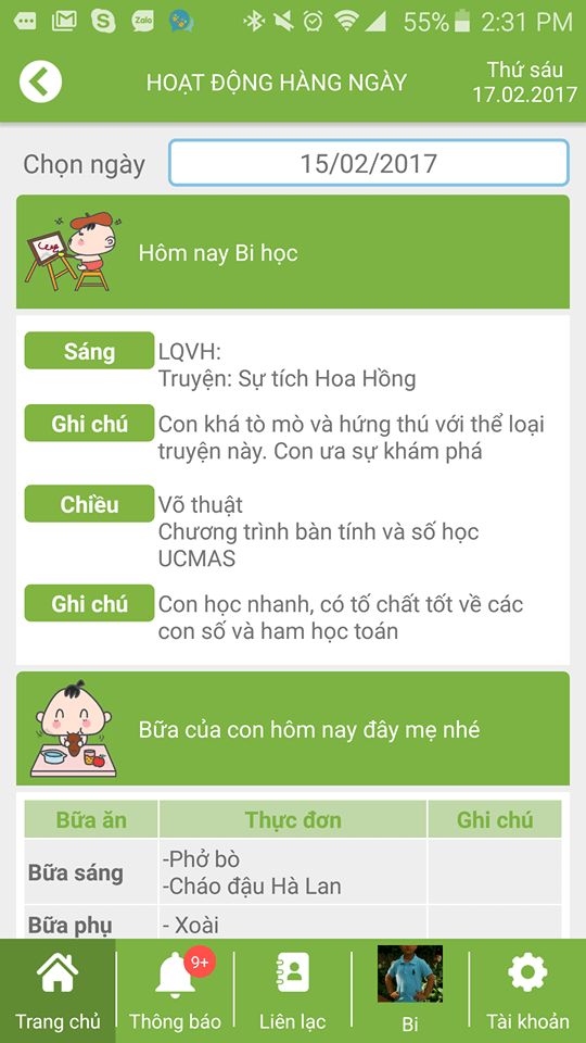 kidsonline-chon-truong-cho-con