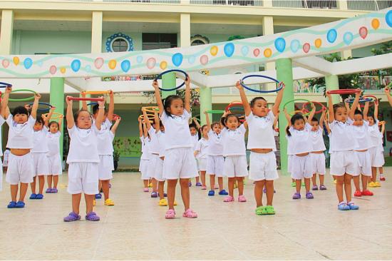 Ý nghĩa giáo dục thể chất cho trẻ mầm non-Trẻ thông minh, tự tin hơn