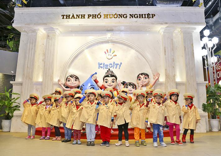 Kidsonline-Top 10 địa điểm vui chơi cho bé hàng đầu ở TPHCM-kiz city1