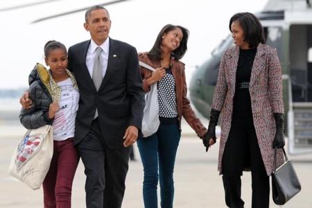 Học Obama cách nuôi dạy con của một tổng thống tài ba1
