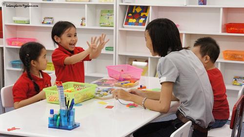 Kết quả hình ảnh cho cô dạy trẻ