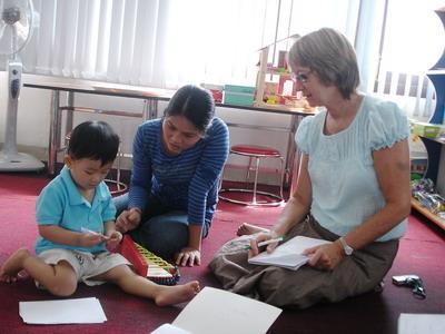 Giáo dục đặc biệt cho trẻ khó khăn về ngôn ngữ ở trường mầm non 02