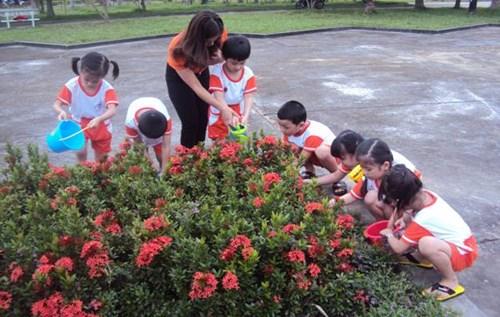 Sáng kiến kinh nghiệm mầm non nâng cao ý thức bảo vệ môi trường cho trẻ trong trường Mầm Non 02