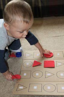 Trò chơi giúp trẻ phát triển cấu trúc vật thể