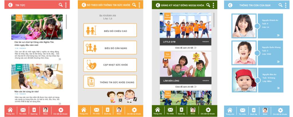 Một số tính năng nổi bật của phần mềm quản lý mầm non Kidsonline