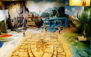 Kidsonline-Top 10 địa điểm vui chơi cho bé hàng đầu ở TPHCM-bảo tàng tranh 3D artinus