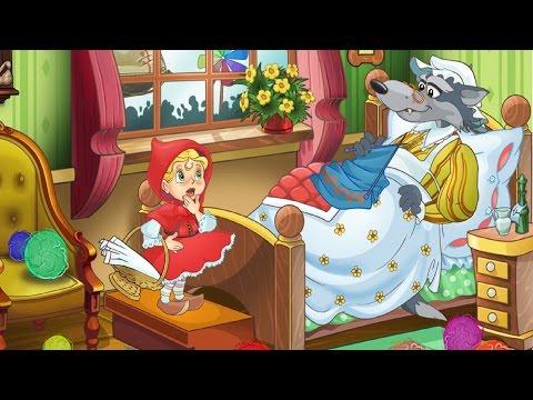 KidsOnline-Truyện hay mầm non-truyện chủ đề gia đình-cô bé quàng khăn đỏ