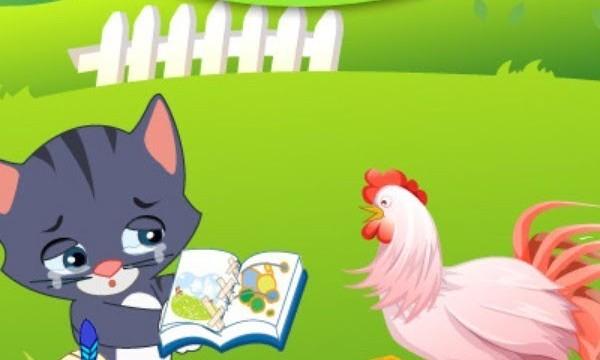 Truyện hay mầm non: Truyện chủ đề trường mầm non-tryện mèo con và quyển sách