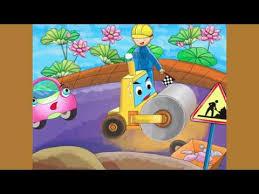Kidsonline-Truyện hay mầm non: Truyện chủ đề Giao thông-Câu chuyện về về chú xe ủi