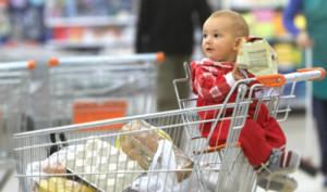 kidsonline-[Cảnh bảo] Đừng bao giờ cho trẻ ngồi xe đẩy trong siêu thị2