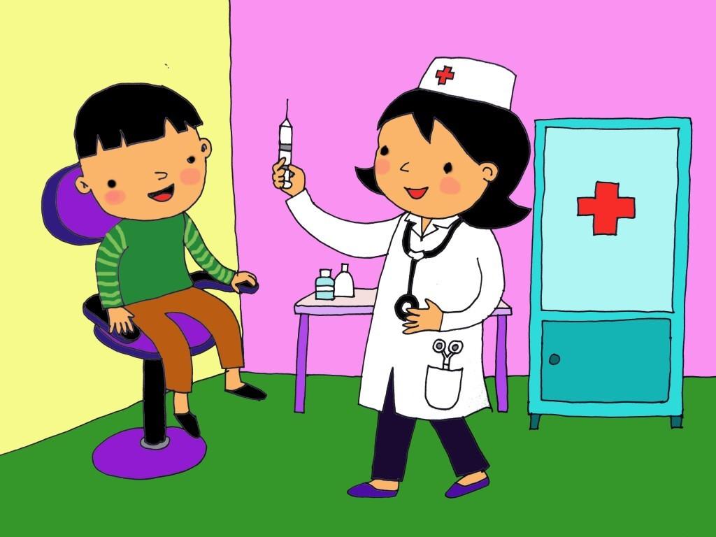 kidsonline-thơ cho trẻ mầm non-thơ chủ đề nghề nghiệp-bác sĩ