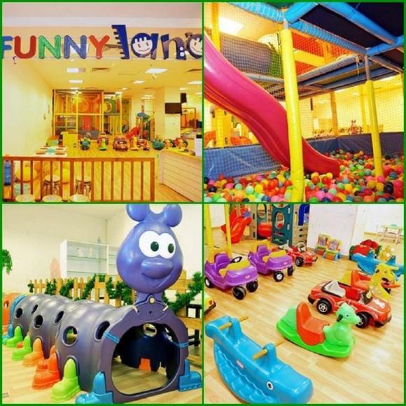Kidsonline-Top 10 địa điểm vui chơi cho bé hàng đầu ở TPHCM-funny land