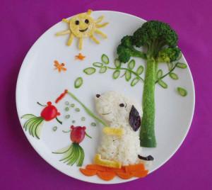 kidsonline-Các cách trang trí món ăn cho bé cực đơn giản và đẹp mắt16