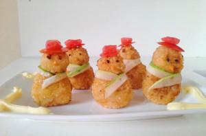 kidsonline-Các cách trang trí món ăn cho bé cực đơn giản và đẹp mắt17