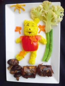 kidsonline-Các cách trang trí món ăn cho bé cực đơn giản và đẹp mắt18