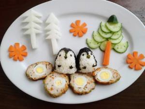 kidsonline-Các cách trang trí món ăn cho bé cực đơn giản và đẹp mắt19