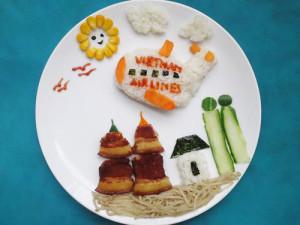 kidsonline-Các cách trang trí món ăn cho bé cực đơn giản và đẹp mắt21
