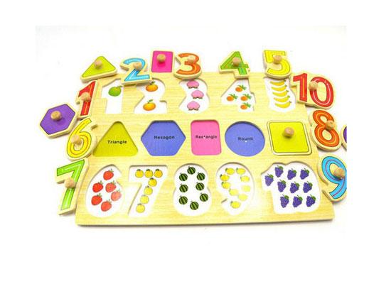 Kinh nghiệm làm và sử dụng đồ dùng học tập trong giảng dạy trẻ làm quen với toán 2