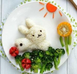 kidsonline-Các cách trang trí món ăn cho bé cực đơn giản và đẹp mắt8