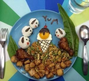 kidsonline-Các cách trang trí món ăn cho bé cực đơn giản và đẹp mắt11