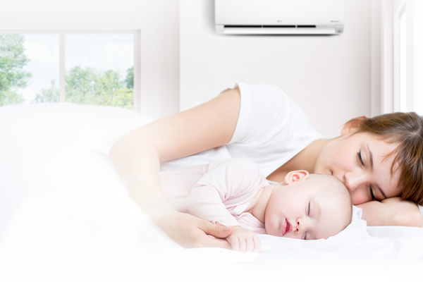 Có nên cho trẻ dưới 3 tuổi ngủ trong phòng có điều hòa? 02