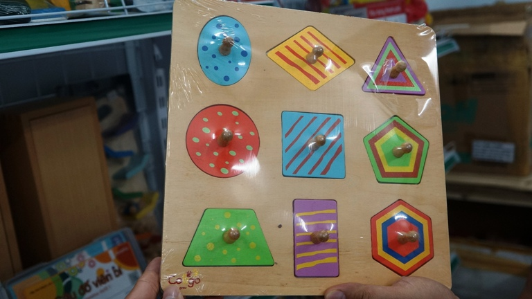 Kinh nghiệm làm và sử dụng đồ dùng học tập trong giảng dạy trẻ làm quen với toán P1