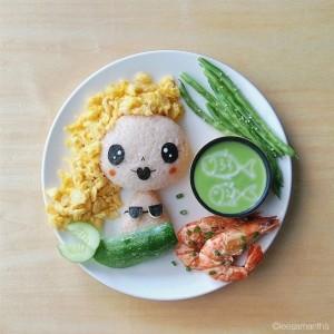 kidsonline-Các cách trang trí món ăn cho bé cực đơn giản và đẹp mắt22