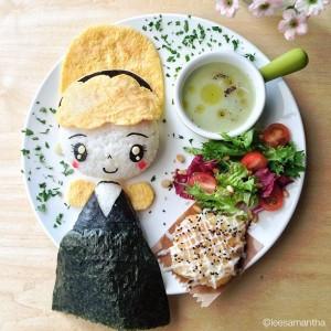 kidsonline-Các cách trang trí món ăn cho bé cực đơn giản và đẹp mắt24