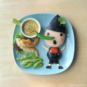 kidsonline-Các cách trang trí món ăn cho bé cực đơn giản và đẹp mắt26