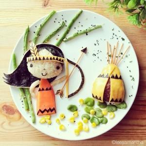 kidsonline-Các cách trang trí món ăn cho bé cực đơn giản và đẹp mắt27