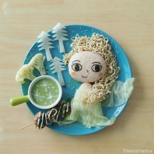 kidsonline-Các cách trang trí món ăn cho bé cực đơn giản và đẹp mắt28