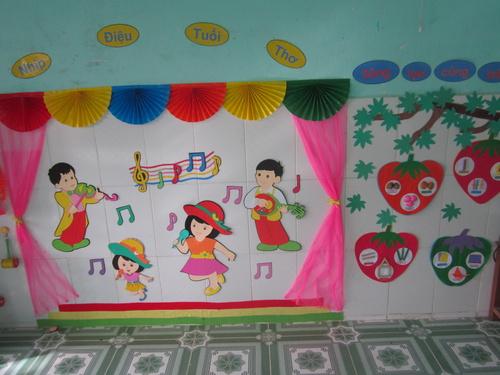 Một số sáng kiến xây dựng môi trường phát triển ngôn ngữ cho trẻ mầm non1