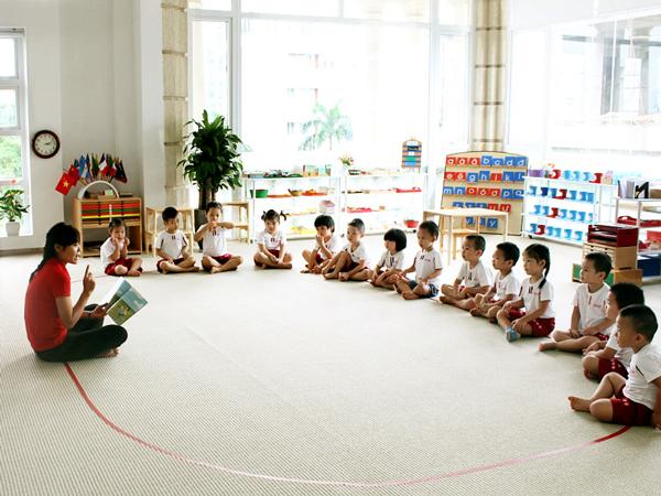Trường mầm non quốc tế Sakura Montessori