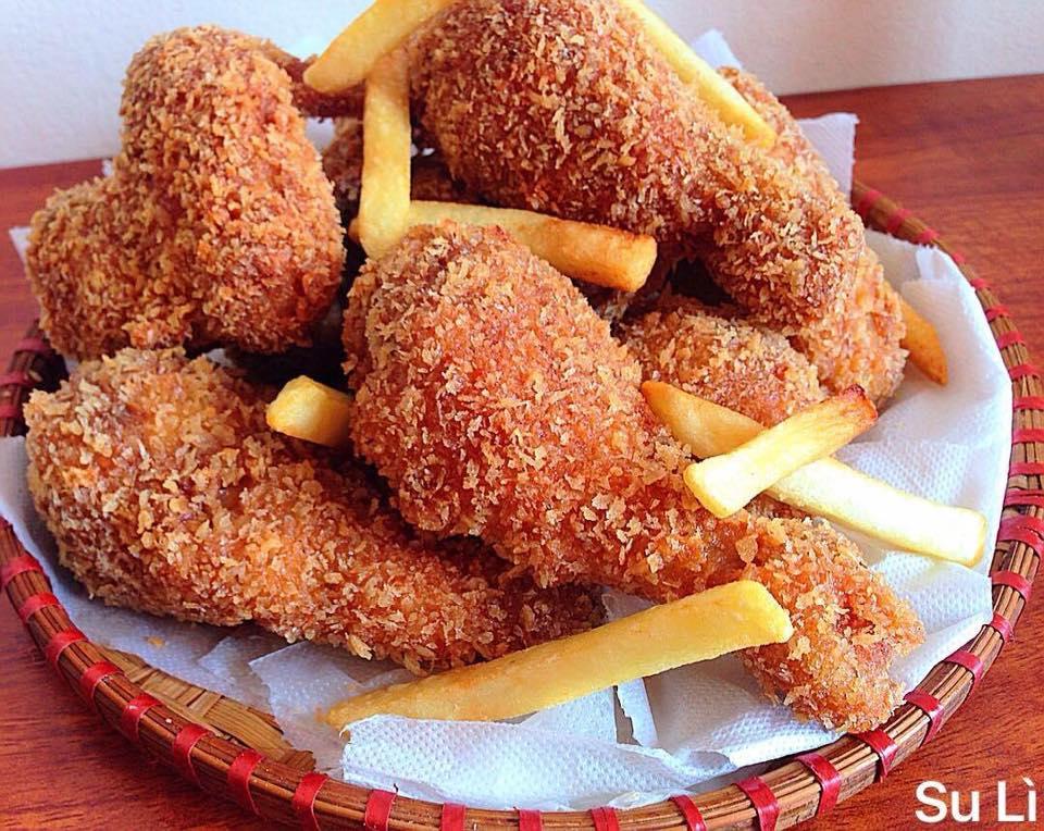 Hướng dẫn chi tiết cách làm gà rán KFC giòn tan hấp dẫn cho bé 8