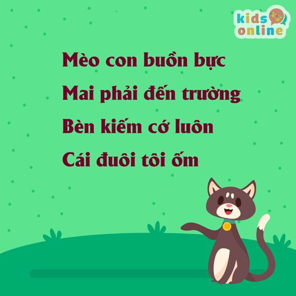 Bài thơ hay cho bé 3
